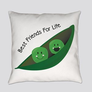 Best Friend Peas Everyday Pillow
