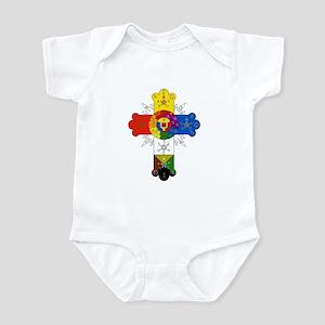 Rose Cross Infant Bodysuit