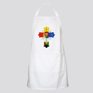 Rose Cross BBQ Apron