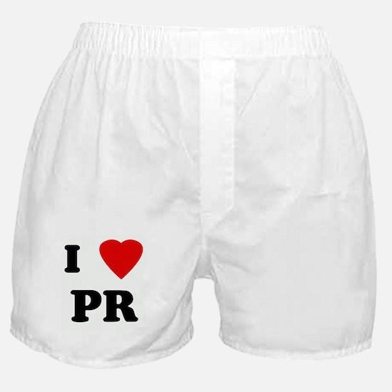 I Love PR Boxer Shorts
