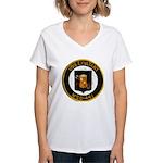 USS EXULTANT Women's V-Neck T-Shirt