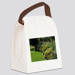 August Perennial Garden Canvas Lunch Bag