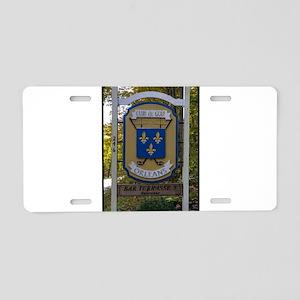 Club de Golf Aluminum License Plate