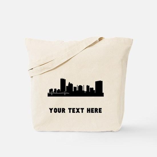 Toledo Cityscape Skyline (Custom) Tote Bag
