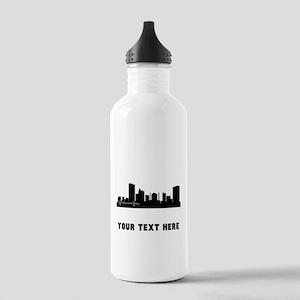 Toledo Cityscape Skyline (Custom) Water Bottle