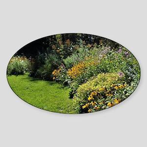 August Perennial Garden Sticker