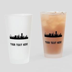 San Francisco Cityscape Skyline (Custom) Drinking