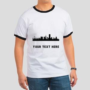 San Francisco Cityscape Skyline (Custom) T-Shirt
