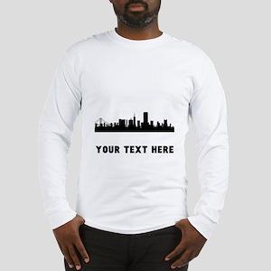 San Francisco Cityscape Skyline (Custom) Long Slee