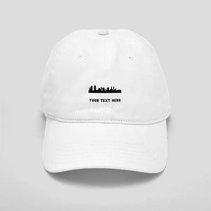 San Diego Cityscape Skyline (Custom) Baseball Cap