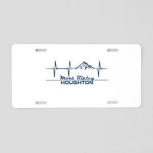 Mont Ripley Ski Resort - Aluminum License Plate