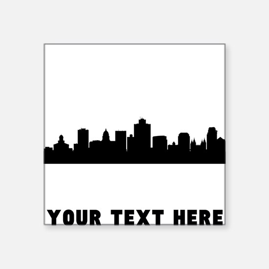 Salt Lake City Cityscape Skyline (Custom) Sticker