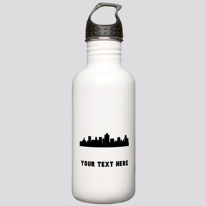 Salt Lake City Cityscape Skyline (Custom) Water Bo