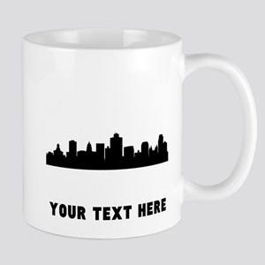 Salt Lake City Cityscape Skyline (Custom) Mugs