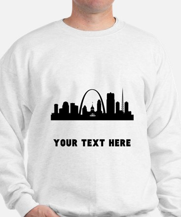 Saint Louis Cityscape Skyline (Custom) Sweatshirt