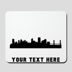 Sacramento Cityscape Skyline (Custom) Mousepad