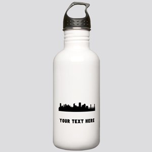 Sacramento Cityscape Skyline (Custom) Water Bottle