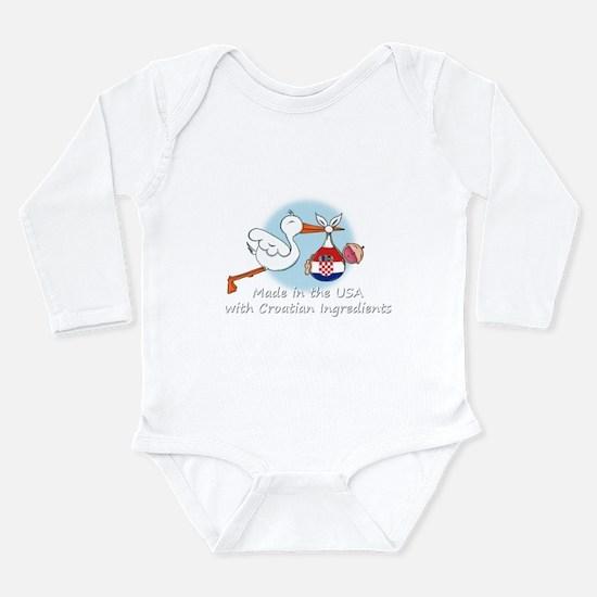 stork baby croatia white 2.psd Body Suit