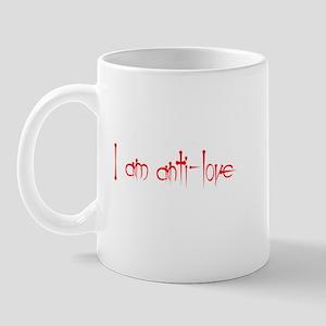 I am Anti Love Mug