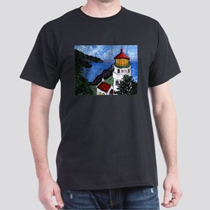 Heceta Head Lighthouse, Oregon White T-Shirt