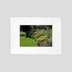 August Perennial Garden 5'x7'Area Rug