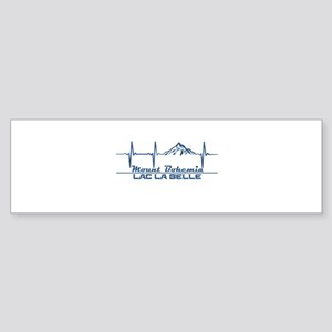 Mount Bohemia - Lac La Belle - Mi Bumper Sticker