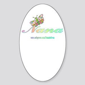 NANA 2 Oval Sticker