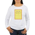 Greeting Card Image 1 Women's Long Sleeve T-Shirt