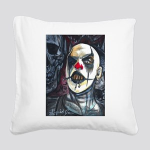 Lord Darkness Square Canvas Pillow