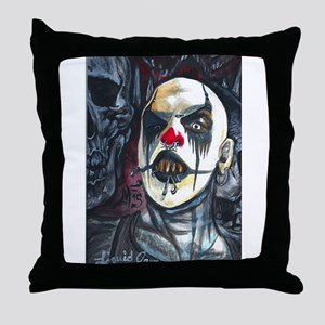 Lord Darkness Throw Pillow