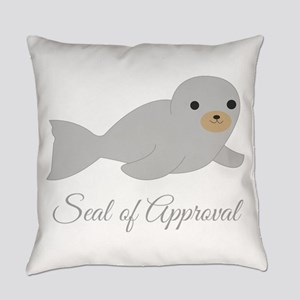 Seal Of Approval Everyday Pillow