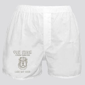 Toy Chinese Shar-Pei Boxer Shorts
