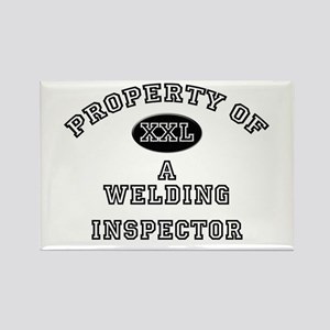 Property of a Welding Inspector Rectangle Magnet