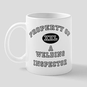 Property of a Welding Inspector Mug