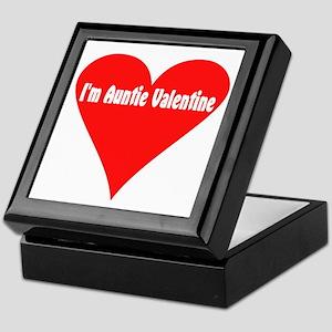I'm Auntie Valentine Keepsake Box
