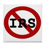 No IRS Tile Coaster