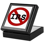 No IRS Keepsake Box