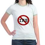 No IRS Jr. Ringer T-Shirt