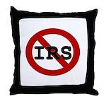 No IRS Throw Pillow
