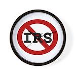 No IRS Wall Clock