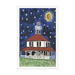 Starry Night Lighthouse Small Print