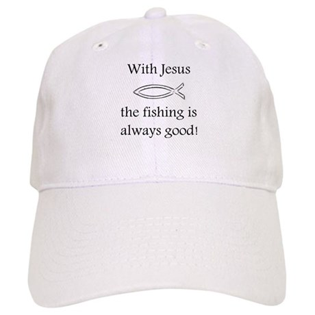 Fishing With Jesus Cap