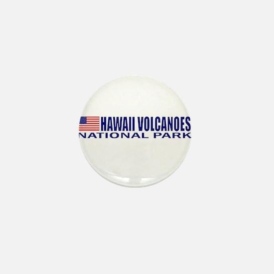 Hawaii Volcanoes National Par Mini Button