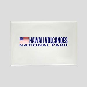 Hawaii Volcanoes National Par Rectangle Magnet