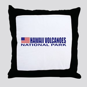 Hawaii Volcanoes National Par Throw Pillow