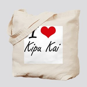 I love Kipu Kai Hawaii artistic design Tote Bag