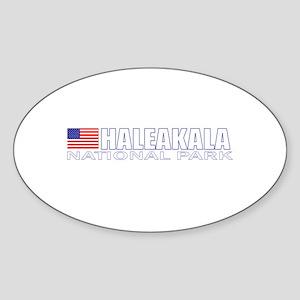 Haleakala National Park Oval Sticker