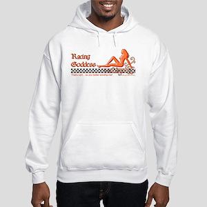 Racing Goddess Hooded Sweatshirt
