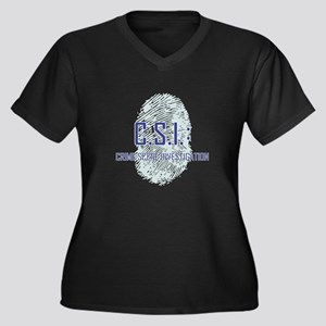 CSI Plus Size T-Shirt