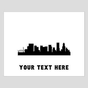 Portland Cityscape Skyline (Custom) Posters